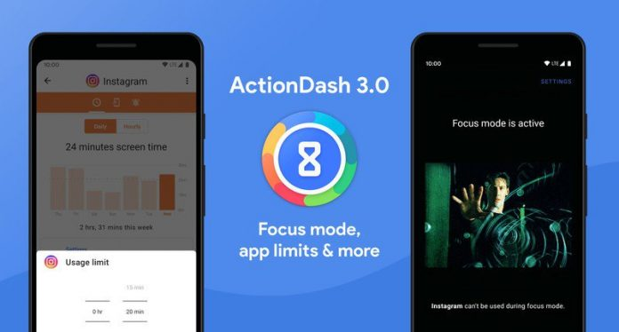 Why wait for Q? ActionDash 3.0 brings Focus mode and app limits
