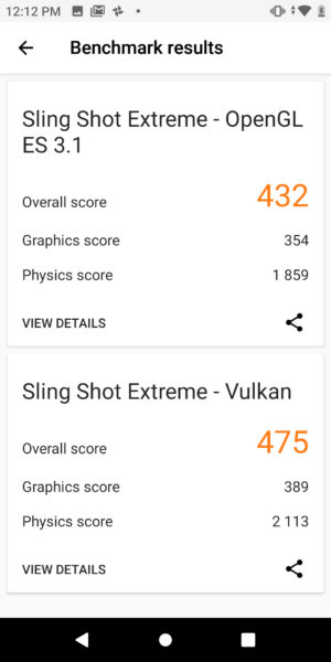 Coolpad Legacy Sling Shot Extreme results