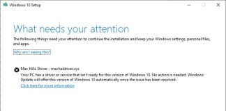 Microsoft Outlines Issue With Windows 10 Updates for Older Macs, Solution Coming This Month