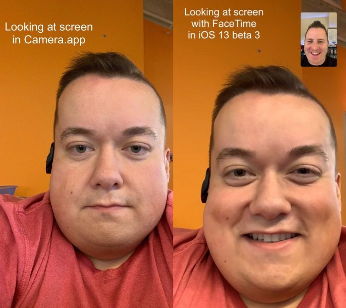 Attention Correction Feature in iOS 13 Beta Enables Appearance of Eye Contact During FaceTime Calls
