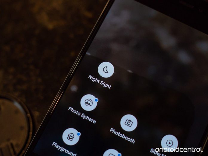 Google Camera brings Night Sight to the front, adds new rewind feature