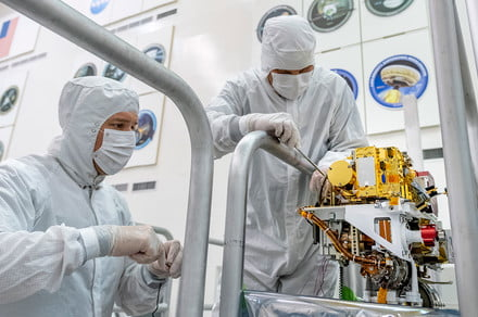Installation of SuperCam Mast Unit on Mars 2020 rover is a towering success