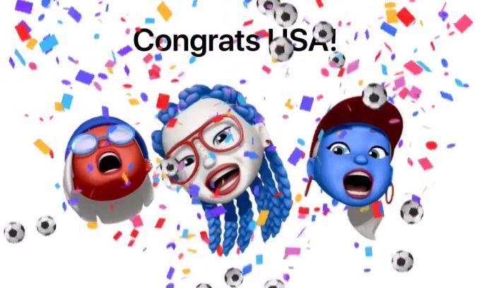 Apple's Website Celebrates US Women's World Cup Victory With Memoji Tribute