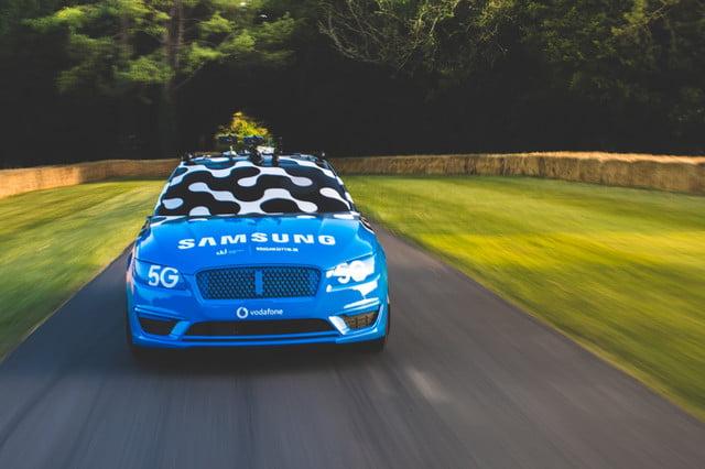 samsung 5g goodwood festival of speed drift news car