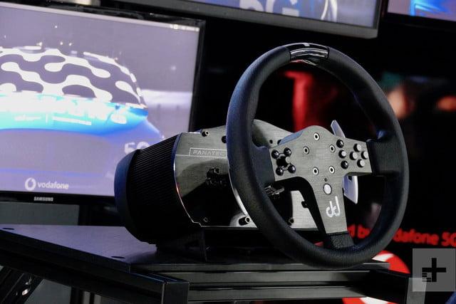 samsung 5g goodwood festival of speed drift news steering wheel