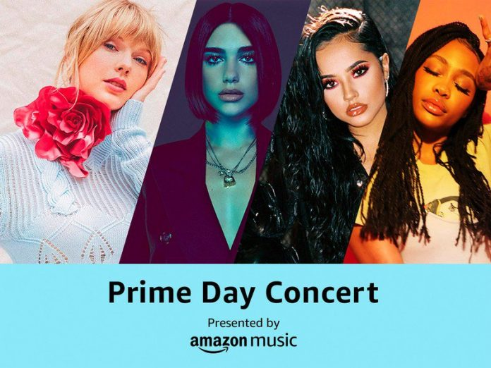 How to live stream today's Prime Day Concert 2019 featuring Taylor Swift
