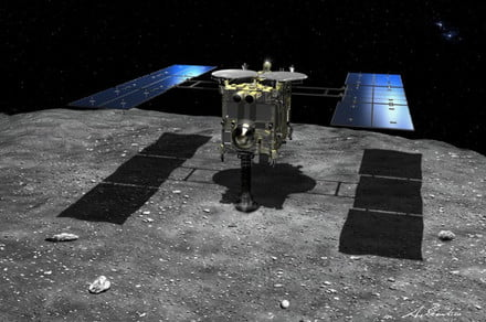 Hayabusa2 probe collects first-ever subsurface samples from an asteroid