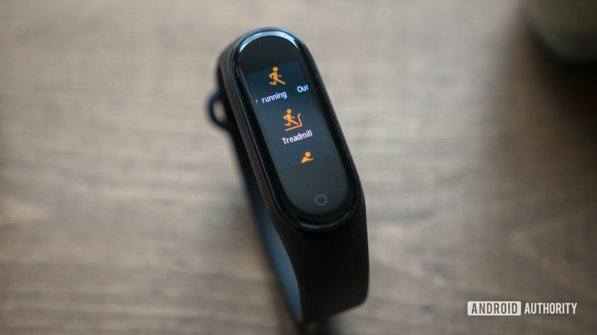 xiaomi mi band 4 review exercises running treadmill workouts