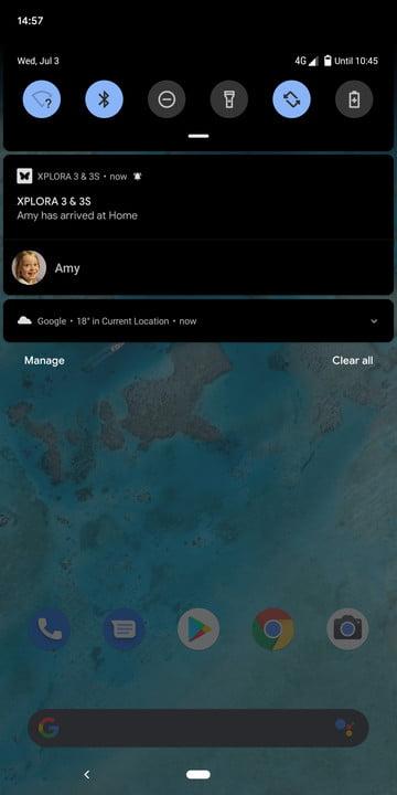 xplora 3s review smartwatch screenshot 5