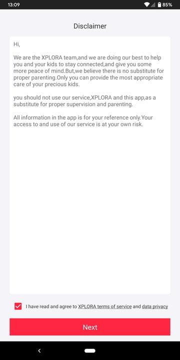 xplora 3s review smartwatch screenshot 1