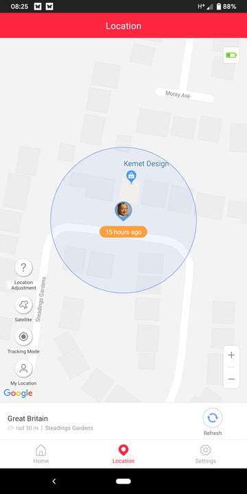 xplora 3s review smartwatch screenshot 3