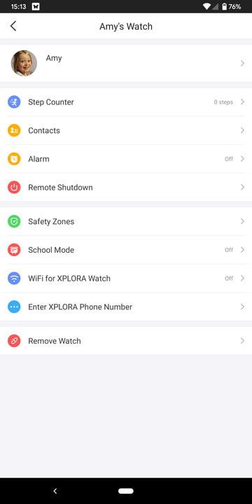 xplora 3s review smartwatch screenshot 2