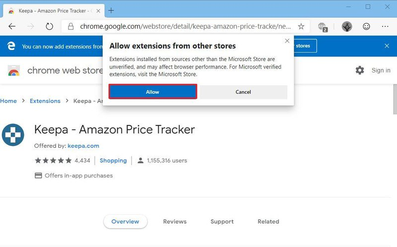keepa amazon chrome extension