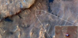 Orbiter spots Curiosity from space, shows our rover friend on surface of Mars