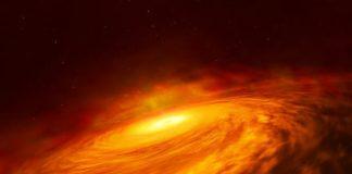 Hubble spots unexpected disc around supermassive black hole