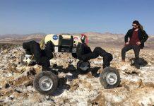 Meet NASA's climbing robots, able to move through the slipperiest environments