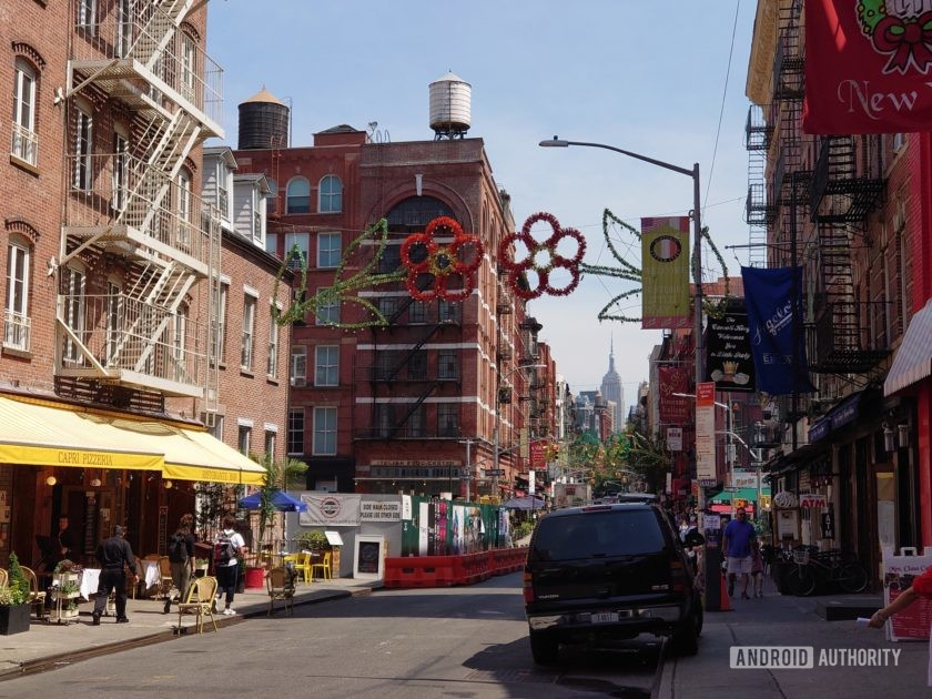 Sony Xperia 1 Review Photo Sample telephoto Little Italy