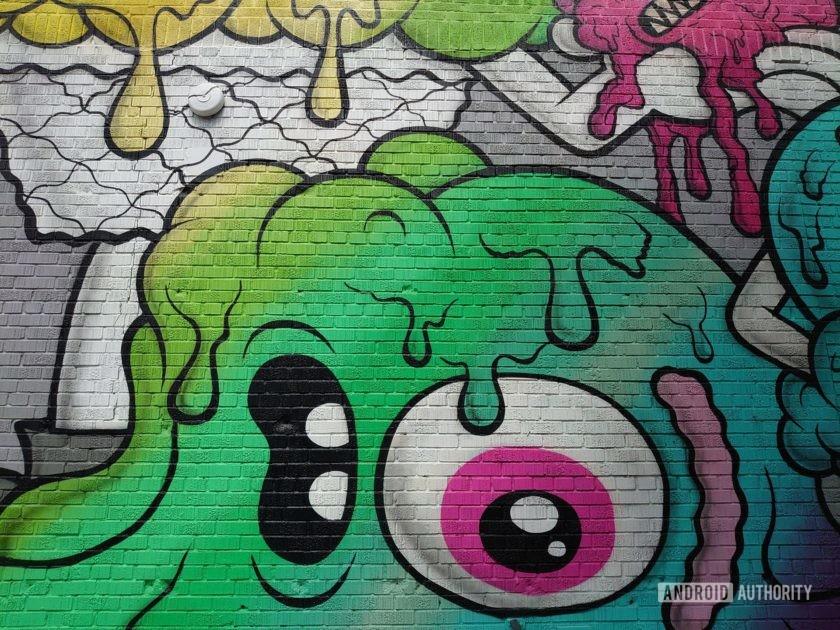 Sony Xperia 1 Review Photo Sample graffiti standard alien