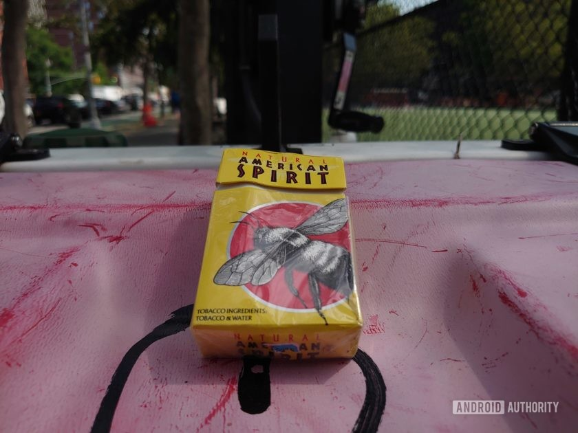 Sony Xperia 1 Review Photo Sample bowery cigarettes