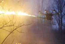 It sounds like utter madness, but you can now buy a flamethrower drone