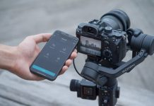 With object tracking, the lightweight DJI Ronin-SC is still heavy on features