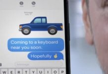 There is no way to say pickup truck in emoji, and Ford wants to change that