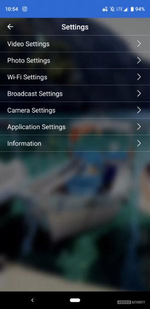 Vuze XR Dual VR camera review settings