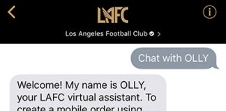 Los Angeles FC Launches Order-Ahead Food and Drinks Feature Through Apple Business Chat