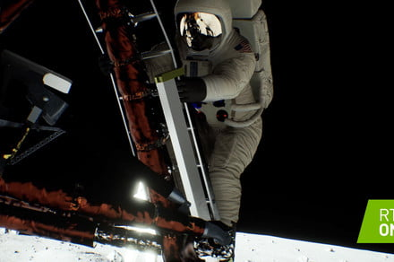 Nvidia's RTX shows how Neil Armstrong would appear if Apollo 11 landed today
