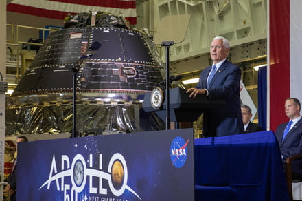NASA's Artemis capsule is complete, will carry the first woman to the moon