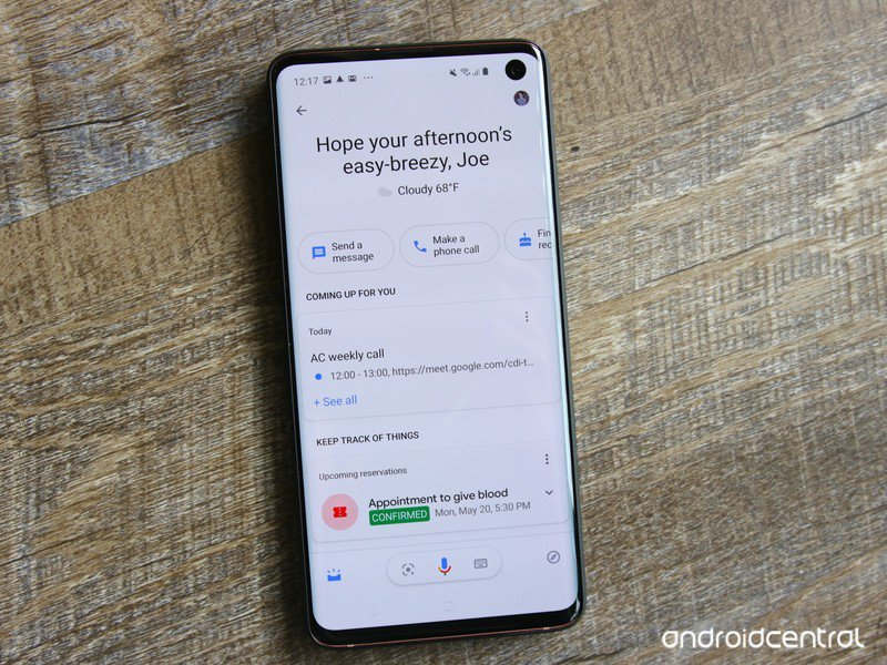 Google Assistant may soon let you send texts directly from the lock