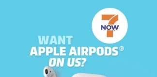 7-Eleven Offering Free AirPods to First 500 Customers Who Place $50 Order in 7NOW App Tomorrow
