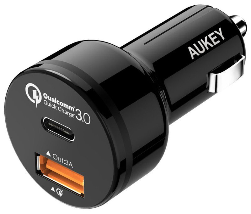 aukey-car-charger-usb-c-quick-charge-3-r