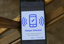 How does Hotspot service work on Visible?