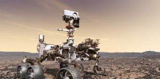 Watch NASA's Mars rover train for its 2020 mission with some bicep curls