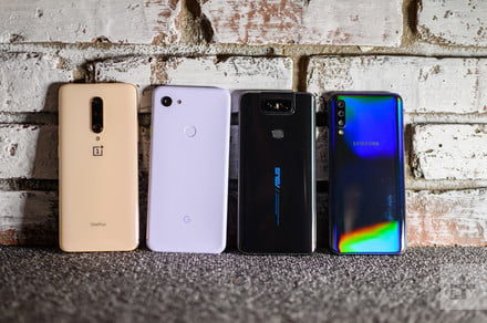 OnePlus 7 Pro vs. Pixel 3a vs. ZenFone 6 vs. Samsung Galaxy A50: Camera shootout