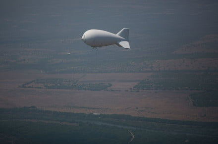The U.S. military is using solar-powered balloons to spy on parts of the Midwest