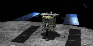 See Hayabusa2 touch down on asteroid Ryugu and collect a sample