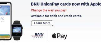 Macau Bank BNU Announces Apple Pay Support