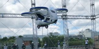 NEC's passenger drone takes to the skies in somewhat cautious test flight