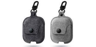 Twelve South Launches AirSnap Case for AirPods in New Twill Fabric