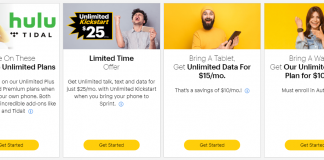 The best deals available at Sprint (August 2019)