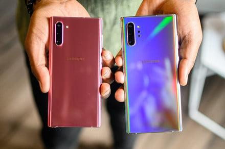 Samsung Galaxy Note 10 Plus vs. Note 10 vs. Note 9: Spec comparison