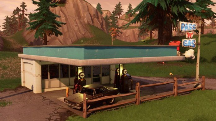 Here's where to find Gas Stations for the Spray and Pray Fortnite missions