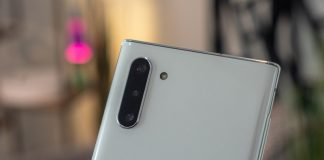 What does the DepthVision camera do on the Note 10+?