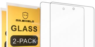 Keep your Fire 7 tablet safe with a tempered glass screen protector