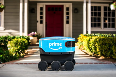 Amazon and Postmates' delivery robots heading to more sidewalks in the U.S.