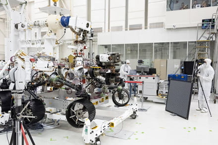 Engineers test Mars 2020 rover's vision, find it is 20/20