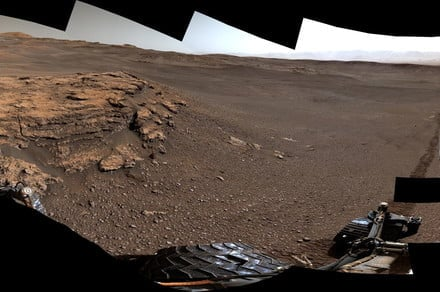 Curiosity rover celebrates its 7th birthday by investigating a clay mystery