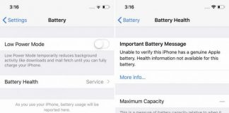 Apple on iPhone Battery Locking Issue: We Want to Make Sure Battery Replacement is Done Properly